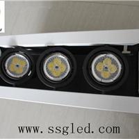 供应三头12瓦LED斗胆灯  开孔尺寸275*95mm