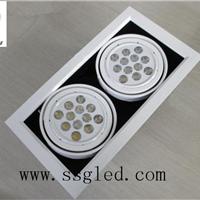 供应双头24瓦LED斗胆灯  开孔尺寸310*160mm