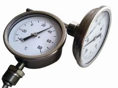 供应国美GM耐震双金属温度计