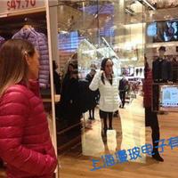 3D虚拟互动试衣镜透明玻璃/透明魔镜玻璃