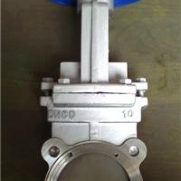 供应不锈钢手动刀型闸阀,对夹式耐磨刀闸阀