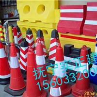 供应秦皇岛交通设施减速带路锥防撞桶隔离柱