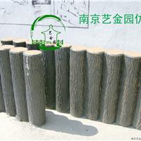 仿木桩,仿木柱,水泥柱,仿树皮