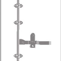 供应盈佳515121门锁 后门锁 厢式车门锁 集装箱配件