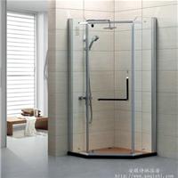 洗浴房工程钢化玻璃钻石型【淋浴房定制】