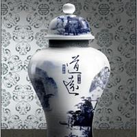 陶瓷罐定制将军罐,将军罐酒壶,工艺摆件