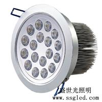 供应24瓦LED天花灯  开孔尺寸160mm 直径180