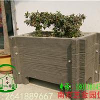 南京仿木花箱花盆供应