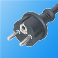 供应VDE欧式防水插头二插三插电源线插头