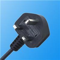 供应英式BS插头BS装配插头电源线插头
