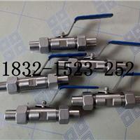 供应Q21F-16P广式外螺纹焊接球阀