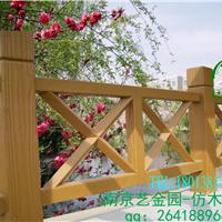 南京江宁殷巷秣陵禄口仿木护栏供应
