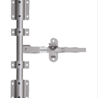 供应332131一寸管门锁 后门锁 集装箱门锁