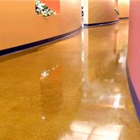 承接滁州彩色旧固化剂地坪翻新,包施工