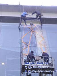 广州 专业 幕墙玻璃维修  改造工程