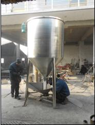 石家庄胜达不锈钢大型立式搅拌机,混料机