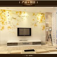 供应瓷砖雕刻电视背景墙