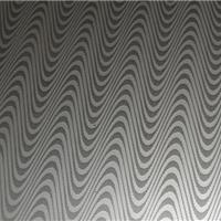供应佛山彩钢澜石巨狼水波纹压纹橱柜台面板