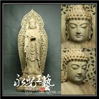 南无阿弥陀佛佛像寺庙摆件礼品工艺特价木雕