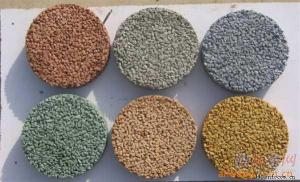 排水地坪粘合剂 透水混凝土专用胶结料