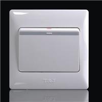 天基86型一位触点式自动复位开关 弱电系统触发智能家居控制