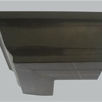 供应重庆彩铝落水系统成品天沟PVC落水天沟