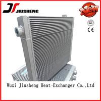 供应铝制板翅式工程机械换热器 无锡久盛
