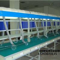 深圳专业生产流水线焊锡除烟车间抽风通风项目