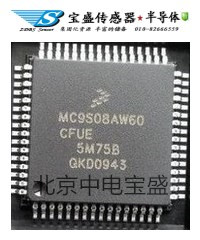 MC9S08AW60CFGE飞思卡尔原装现货