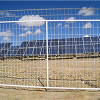 光伏电站围栏网专业生产厂家、光伏厂钢围网