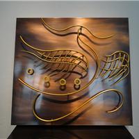 供应深圳豪宅白领公寓纯铜装饰壁挂
