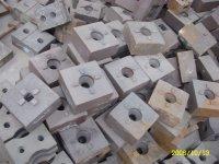 供应山东金泰铸造砖机耐磨螺旋铰刀价格厂家
