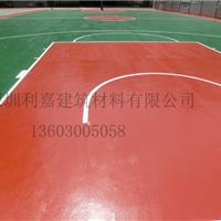 广东符合国家质量检测的超强耐磨硅PU篮球场