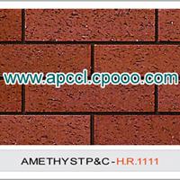 机制毛面砖 陶土砖 外墙砖 劈开砖 墙面砖