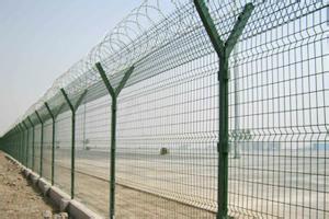 供应围界机场护栏网监狱防护专业生产定制