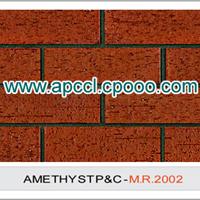 劈开砖 陶土砖 陶质砖 外墙砖 紫砂砖
