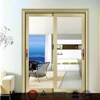 广东佛山铝门窗定制推拉门铝合金门窗铝型材(电泳香槟)