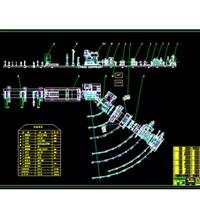供应165―2000螺旋焊管机组图纸CAD电子版