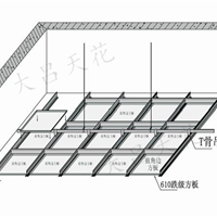 600铝扣板 冲孔天花 铝扣板