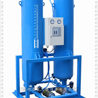 微热再生吸附式干燥机工作原理