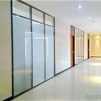 供应清远双玻百叶隔间,梅州玻璃隔断墙