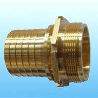DIN2817槽车罐车接头厂家供应黄铜外螺纹宝塔管尾