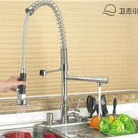 供应联帮洁具全铜厨房水龙头-橱柜水龙头