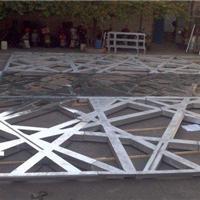 供应铝屏风 铝屏风装饰 铝雕花屏风
