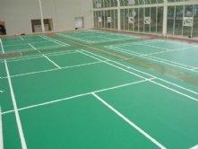天津塑胶地板:乒乓球场地胶铺设;运动地板