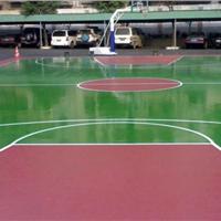 供应天津运动场地施工 弹性丙烯酸球场