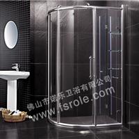 供应弧形淋浴房,屏风,钻石形淋浴房