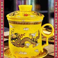 办公茶杯订做 景德镇陶瓷茶杯
