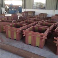 厂家直销户外塑木地板栏杆花箱等塑木型材