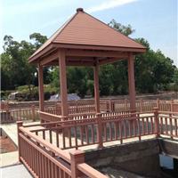 各种规格塑木地板塑木花箱木塑重庆塑木